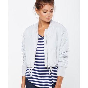 Cotton On Gray Puffy Jacket